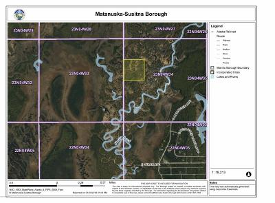 1d - Matanuska Susitna Borough Residential Lots & Land For Sale: B002 Sheep Creek Trail