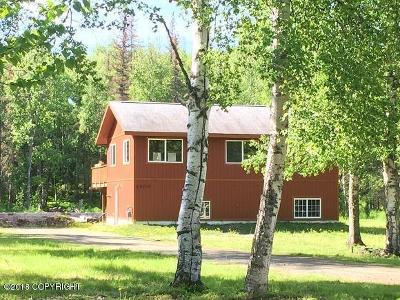 Wasilla Single Family Home For Sale: 1500 W Crazy Pearsons Road