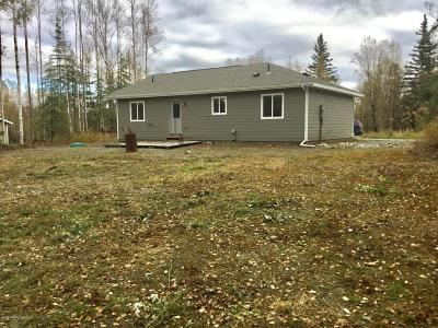 Wasilla Single Family Home For Sale: 2540 N Pittman Road