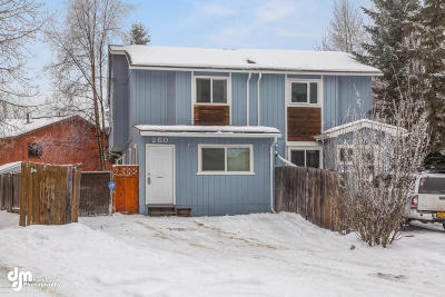 Anchorage Single Family Home For Sale: 260 Yellow Leaf Circle