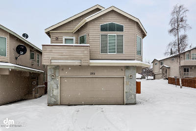 Anchorage Single Family Home For Sale: 252 Dailey Avenue #20