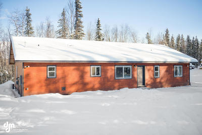Wasilla Single Family Home For Sale: 1967 W Schrock Road