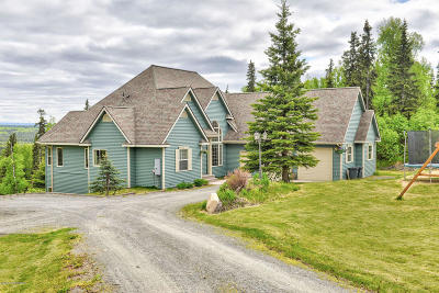 Soldotna Single Family Home For Sale: 34930 Schwalm Road