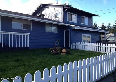 Kodiak AK Single Family Home For Sale: $277,000