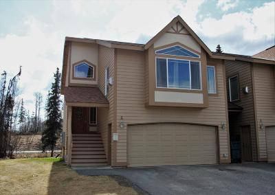 Wasilla Condo/Townhouse For Sale: 2140 W Kathy Circle #A