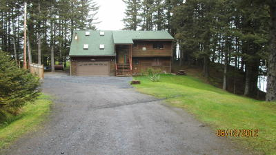 Kodiak AK Single Family Home For Sale: $650,000