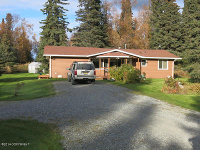 Soldotna Single Family Home For Sale: 49060 Charlie Brown Drive