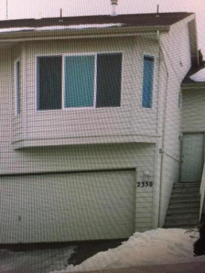 Anchorage AK Single Family Home For Sale: $249,000