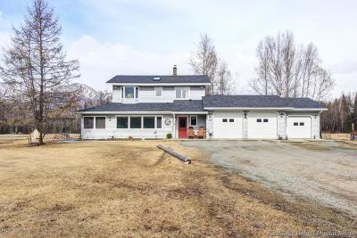 Wasilla Single Family Home For Sale: 2651 E Carney Road