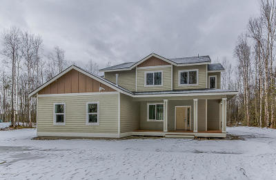 Wasilla Single Family Home For Sale: 3836 W Birch Leaf Way