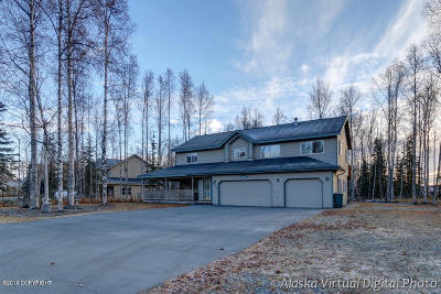 Wasilla Single Family Home For Sale: 6850 W Rasmussen Place