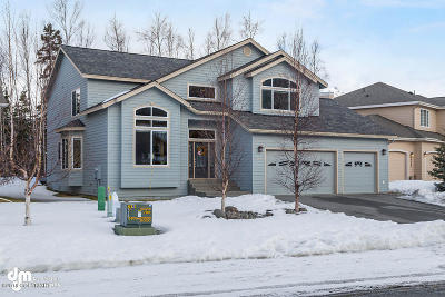 Eagle River Single Family Home For Sale: 17475 Yellowstone Drive