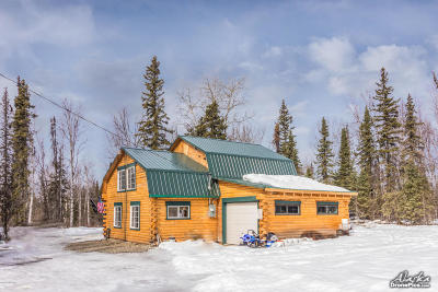 Anchorage, Chugiak, Eagle River, Palmer, Wasilla Single Family Home For Sale: 3805 N Three Bees Road