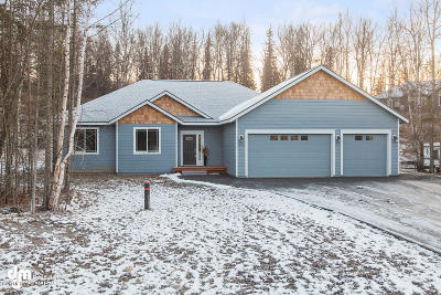 Wasilla Single Family Home For Sale: 3990 W Isla Drive