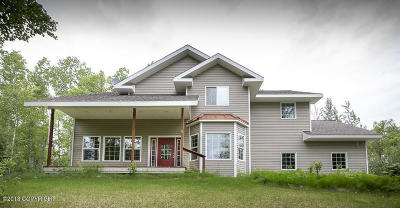 Wasilla Single Family Home For Sale: 3430 N Daisy Petal Circle