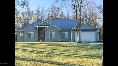 Wasilla Single Family Home For Sale: 3781 Birch Leaf Way