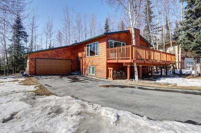 Eagle River Single Family Home For Sale: 10821 Klutina Circle