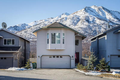 Eagle River Single Family Home For Sale: 20586 Mountainside Drive