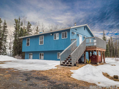 Soldotna Single Family Home For Sale: 33977 Funny River Road