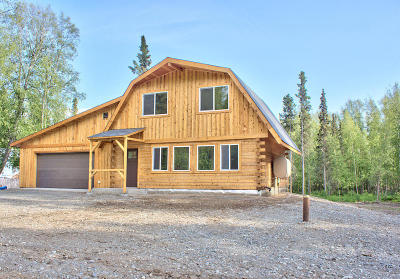 Wasilla Single Family Home For Sale: 11552 Meteor Drive