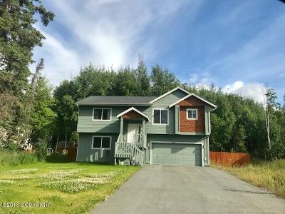 Wasilla Single Family Home For Sale: 7905 S Settlers Bay Drive