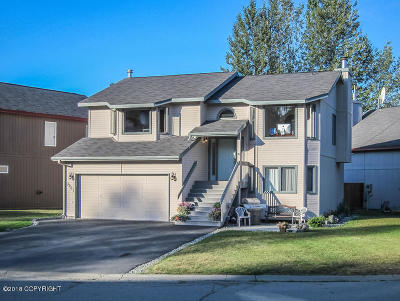 Anchorage Single Family Home For Sale: 3901 Reflection Drive
