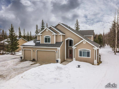 Wasilla Single Family Home For Sale: 3745 N Fireweed Fields