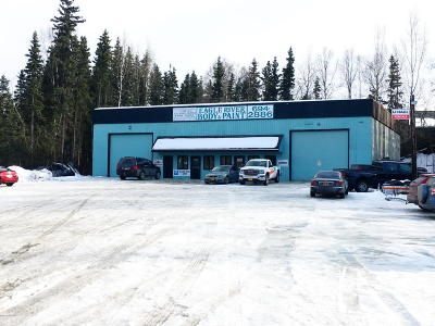 Eagle River Commercial For Sale: 16924 Snowmobile Lane