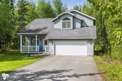 Wasilla Single Family Home For Sale: 7400 S Brimstone Drive