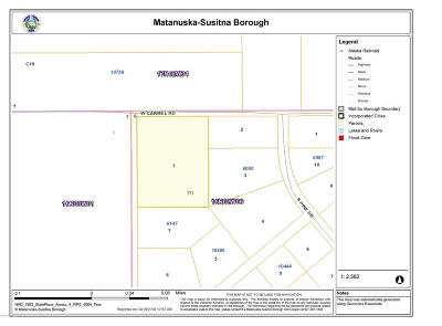 Wasilla Residential Lots & Land For Sale: NHN Lot 1 Knikwood
