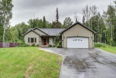 Wasilla Single Family Home For Sale: 945 E Ashwood Loop