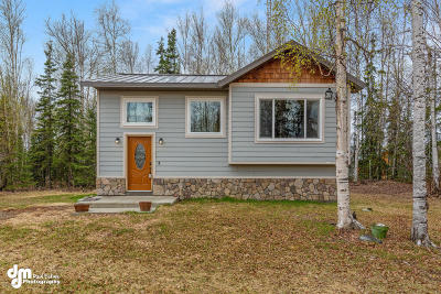 Wasilla Single Family Home For Sale: 9807 W Dusk Lake Loop