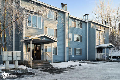 Anchorage Condo/Townhouse For Sale: 315 Krane Drive #17