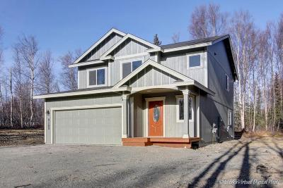 Wasilla Single Family Home For Sale: 1881 W Lake Lucille Drive