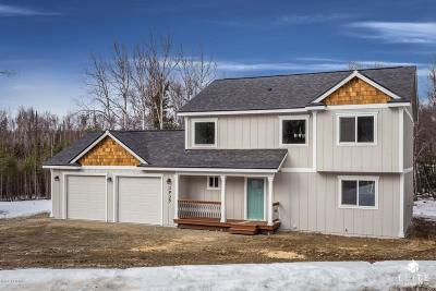 Wasilla Single Family Home For Sale: 1911 W Lake Lucille Drive