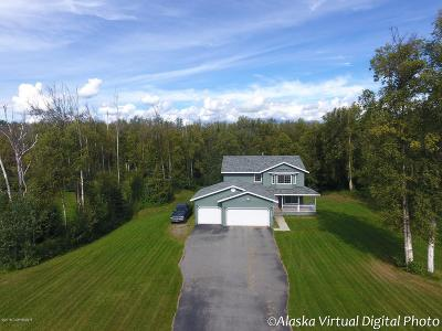 Wasilla Single Family Home For Sale: 2736 W Discovery Loop