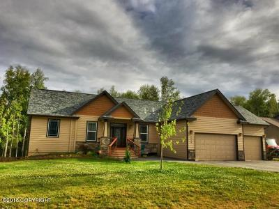 Wasilla Single Family Home For Sale: 5868 E Fetlock Drive