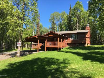 Soldotna Single Family Home For Sale: 44530 Lumberjack Lane