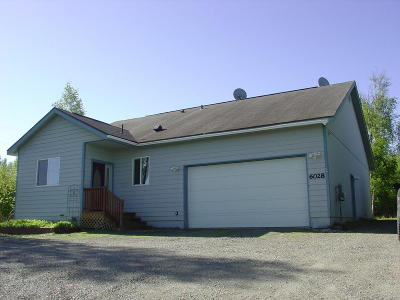 Wasilla Single Family Home For Sale: 6028 W Dandy Circle