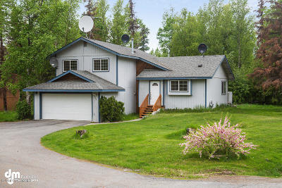 Wasilla Single Family Home For Sale: 650 Lanny Wadkins Place