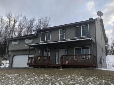 Wasilla Single Family Home For Sale: 6240 W Locksley Loop