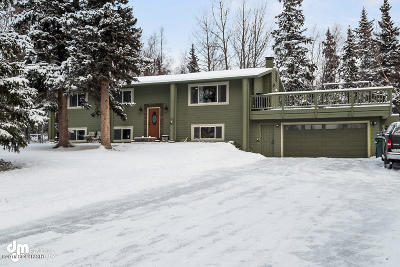Anchorage Single Family Home For Sale: 13101 Hillside Drive