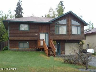 Anchorage Single Family Home For Sale: 8112 Parkridge Circle