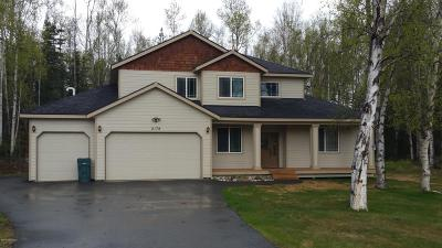 Wasilla Single Family Home For Sale: 2179 W Kathy Circle