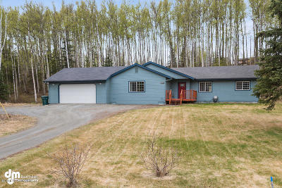 Wasilla Single Family Home For Sale: 7131 W Cambridge Drive