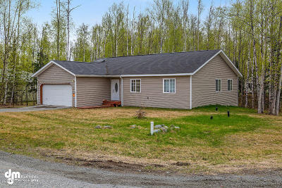 Wasilla Single Family Home For Sale: 6970 S Yohn Bay Place