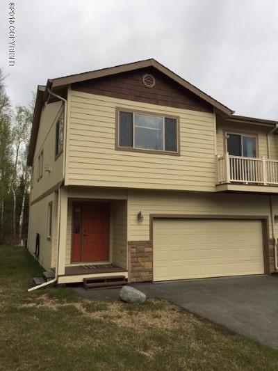 Wasilla Condo/Townhouse For Sale: 2843 S Avalon Circle #4
