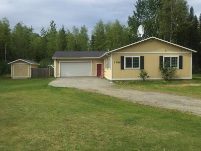Wasilla Single Family Home For Sale: 2580 N Trails End Circle