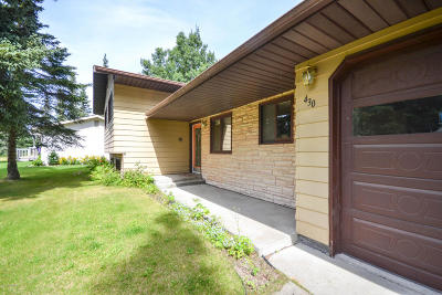 Kenai Single Family Home For Sale: 430 Rogers Road