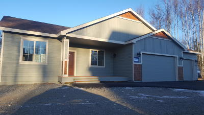 Wasilla Single Family Home For Sale: 2827 W Angela Drive